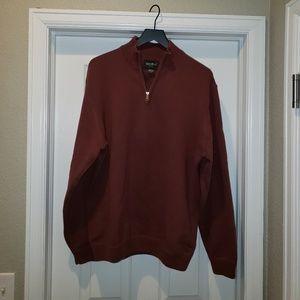 Eddie Bauer Men's XL 1/2 zip sweater